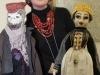 Oksana Tsiupa z lalkami
