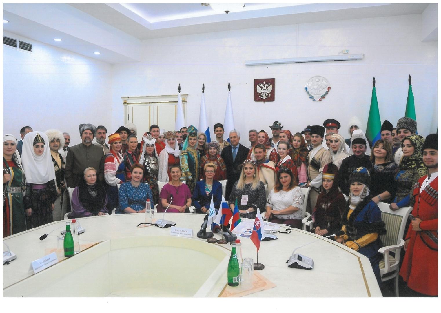 Spotkanie z Prezydentem Dagestanu Vladimirem Vasilyevem